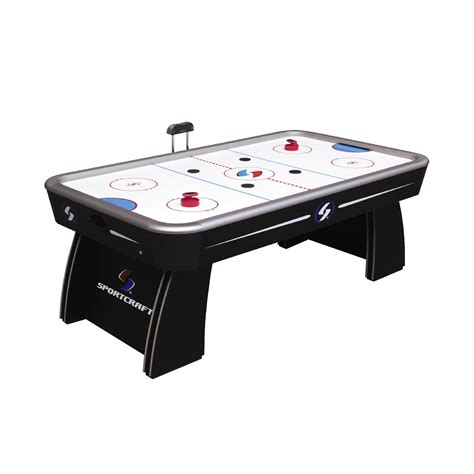 black friday air hockey table sportcraft 7 ft classic electronic air hockey table