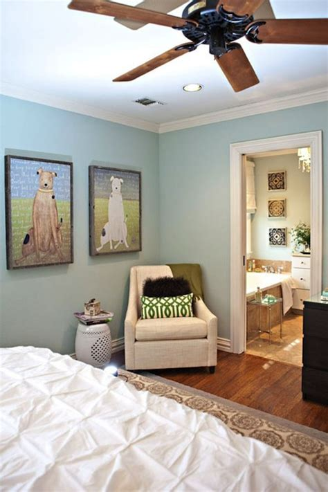 blue paint color contemporary bedroom sherwin williams washed studio ten 25