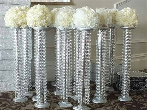 Centerpiece Chandelier Set Of 10 Chandelier Centerpieces