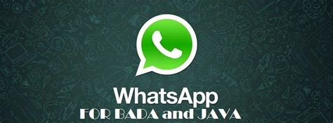download whatsapp full version for java how to download whatsapp for java phones and bada phones