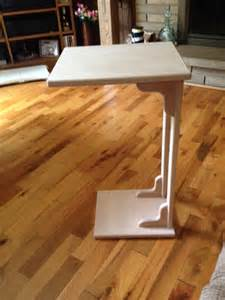 sofa table snack table end table by woodnstuff36 on etsy