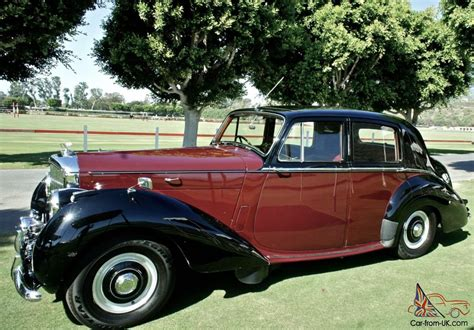 Car Types Saloon by 1954 Bentley R Type Saloon