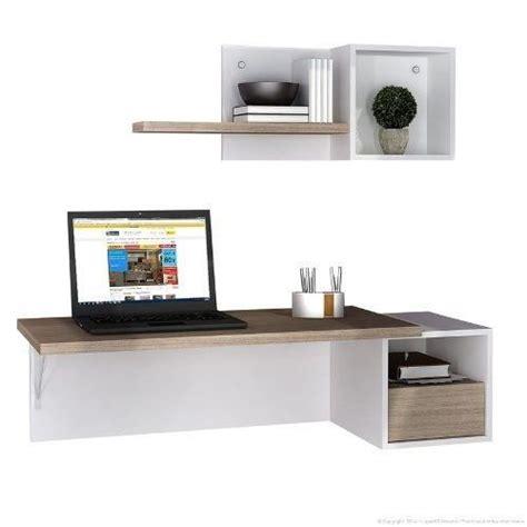 escritorios flotantes para pc escritorio flotante melamina pc oficina notebook