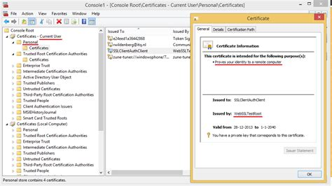 end user certificate template sccm 2012 based client management gift