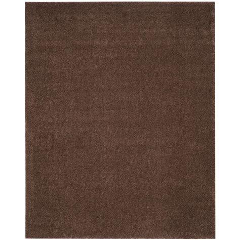 arizona rug safavieh arizona shag brown 8 ft x 10 ft area rug asg820l 8 the home depot