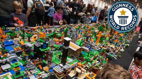 World Of Lego 9 lego 174 minecraft largest lego 174 videogame diorama