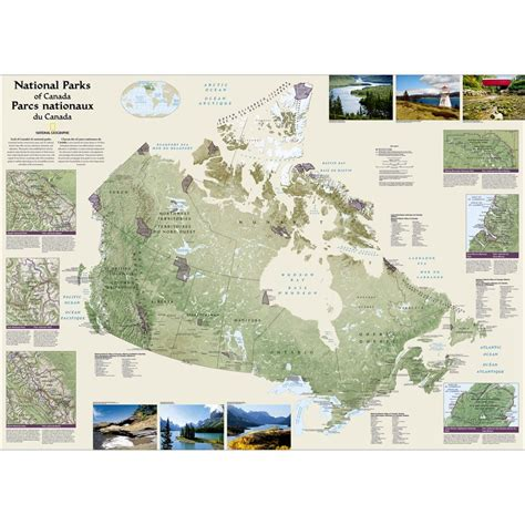 national geographic map of canada canada national parks map national geographic store