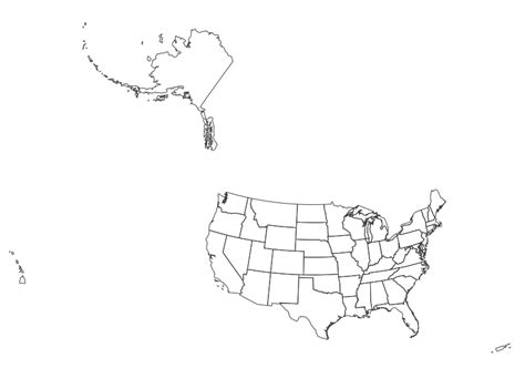 small map of the united states usgs small scale dataset state boundaries of the united