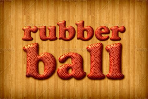 rubber st font photoshop rubber basketball photoshop style design panoply