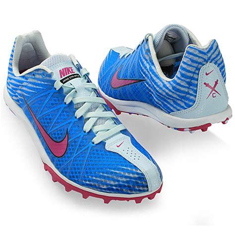 nike cross country running shoes nike waffle womens 525157 454 blue cross country