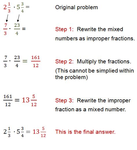 exle of whole numbers mixed fractions