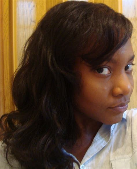 good hair for sew ins good hair beauty diaries day 1 sew in weave