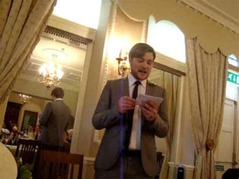 Funniest Best Man Speech ever!   YouTube