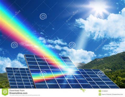 lade energia solare concepto de energ 237 a solar de la energ 237 a renovable imagen