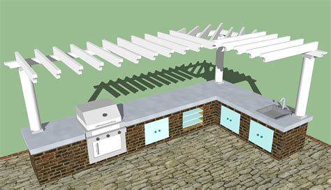 Plans For Building Kitchen Cabinets outdoor kitchen plans free home design ideas