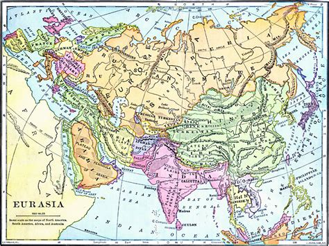 map of eurasia geopolitical eurasia