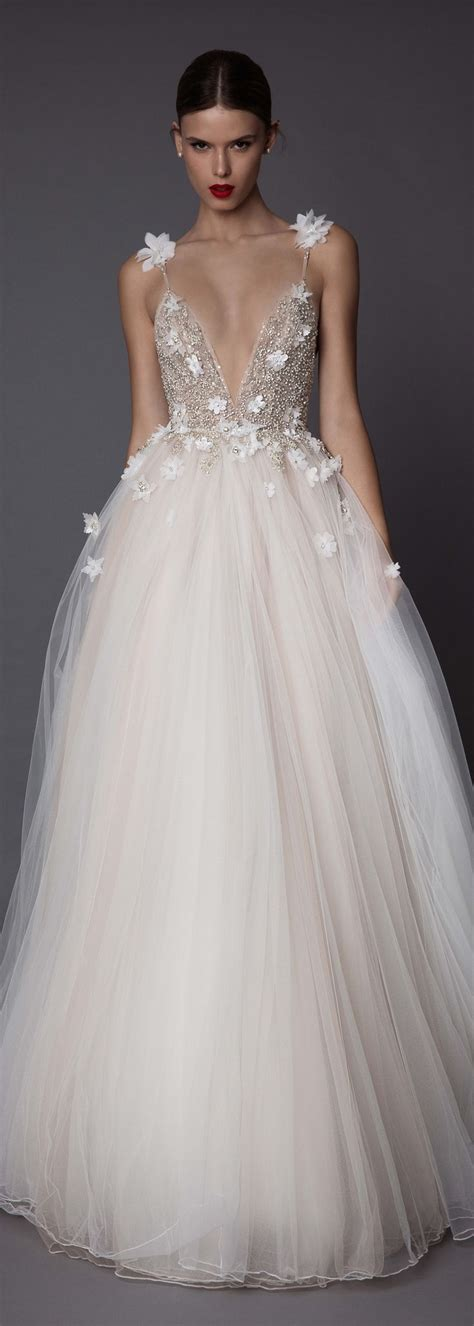 Dress Berta Pink And White Os 25 best ideas about designer wedding dresses on