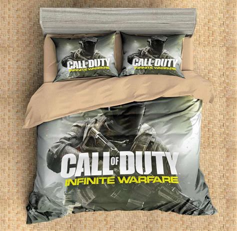 call of duty bedding set 3d customize call of duty infinite warfare bedding set