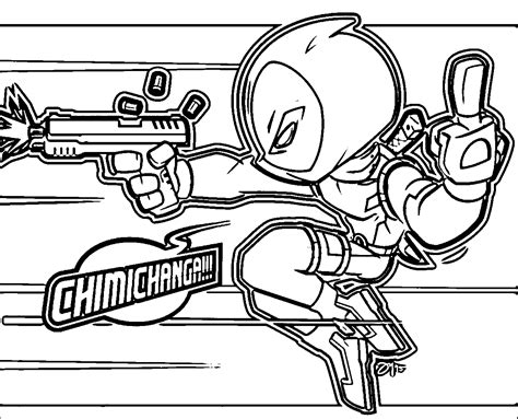 baby deadpool coloring pages printable deadpool coloring pages for kids coloring4free
