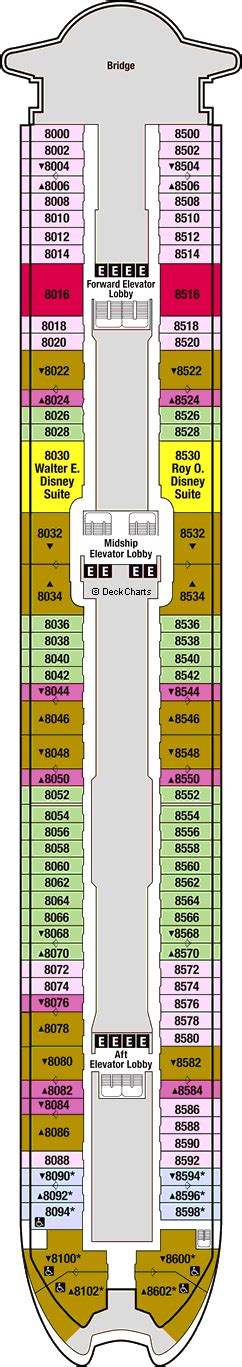 disney magic floor plan disney magic cruise ship deck plans on cruise critic