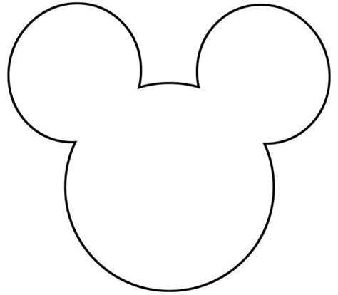mickey mouse silhouette template free printable mickey mouse silhouette search