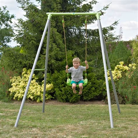 kids single swing tp toys metal single swing by tp toys
