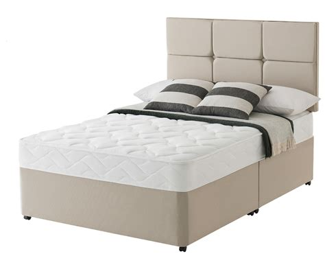 silentnight bed silentnight mirastar comfort 5ft kingsize divan bed