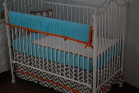 Orange And Blue Crib Bedding Blue Orange And Grey Crib Bedding Aqua Blue In The