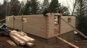 square log cabin