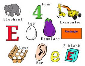 colors starting with e prep prek letter e sensory bin by cori