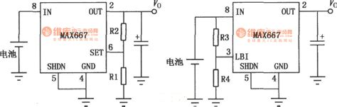 linear integrated circuit and its application the application circuit of the max667 multi functional linear integrated stabilizer 3 power