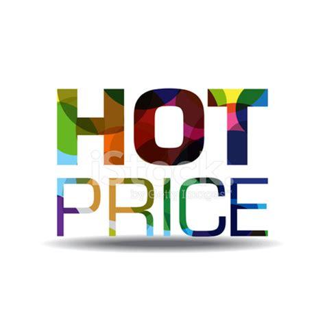 icon design price hot price colorful vector icon design stock photos