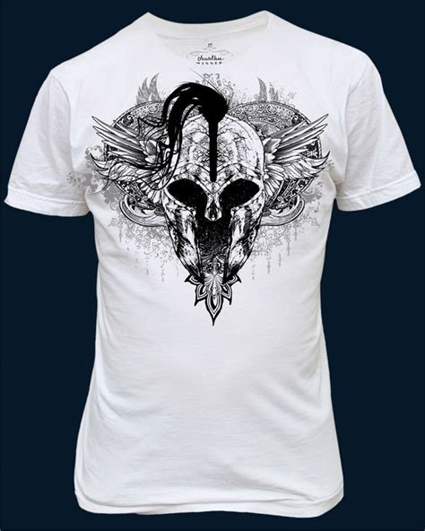 Drawing T Shirt Designs by Spartan T Shirt Design By Chadlonius On Deviantart