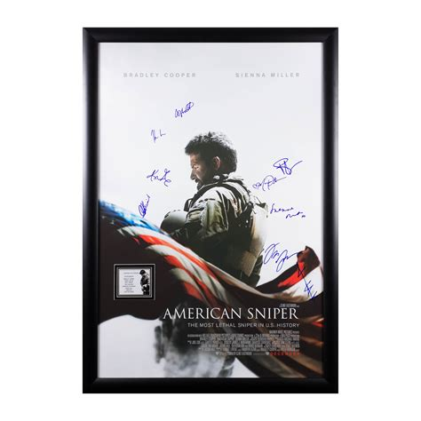 Poster American Sniper 20x30cm american sniper signed poster pop culture collectibles touch of modern