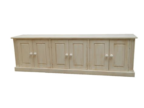 Pine Dining Room Furniture wye pine distressed long low sideboard