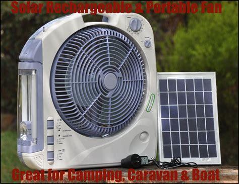 gear solar fan 12 quot solar oscillating fan with radio light for cing