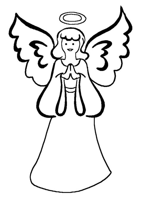 coloring pages of angels with wings printable angel wings coloring page new calendar