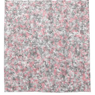 Pink And Gray Shower Curtain by Pink And Grey Shower Curtains Zazzle