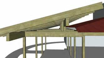 Hip Roof Frame How To Build A Pitched Roof Over A Flat Roof Of A Mobile