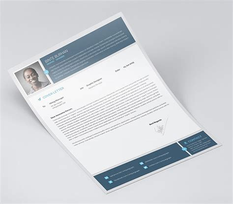 Business Letter Template Indesign 10 best free resume cv templates in ai indesign word