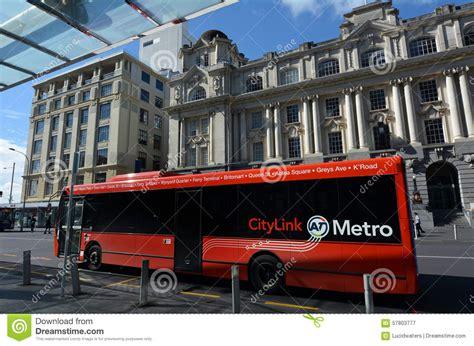 Citylink New Zealand   auckland citylink bus new zealand editorial photography