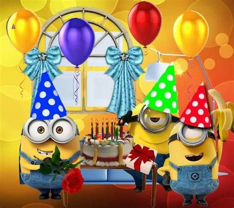 imagenes de minions happy birthday 17 best images about happy birthday on pinterest