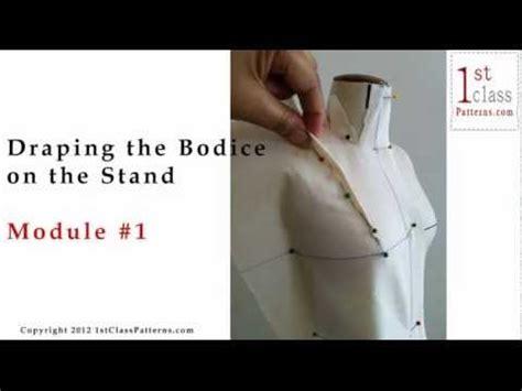 draping pattern making pdf fashion draping online pdf class beginners youtube