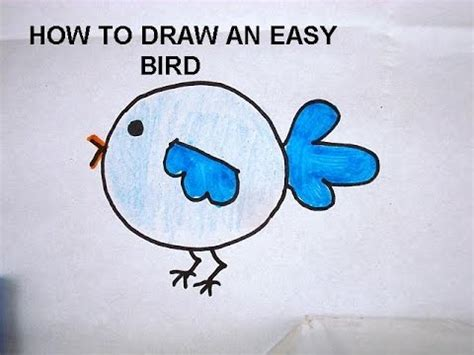 libro drawing birds learn to learn to draw for kids how to draw a bird free drawing lessons for children youtube