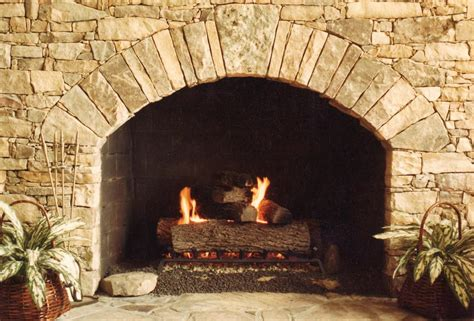 rustic stacked fireplace stacked fireplace