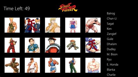 from street fighter main character name street fighter match for windows 8 and 8 1