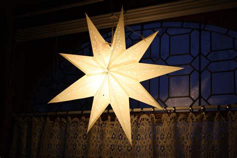 Star Shaped Lights white star lamp picture free photograph photos public