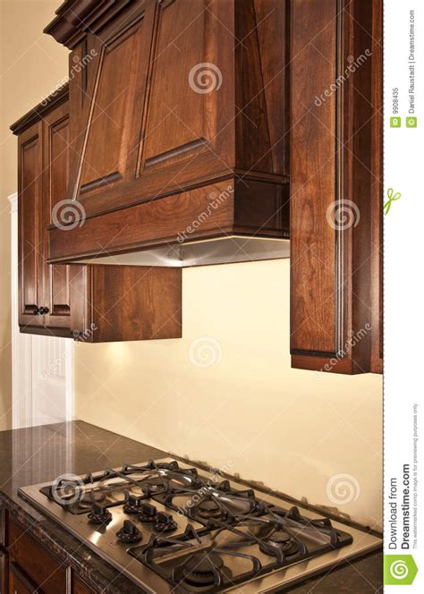 kitchen cabinet range hood design modern kitchen cabinets range hood royalty free stock