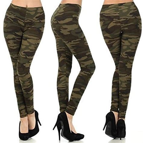 army pattern leggings us cool women military army printed leggings camouflage