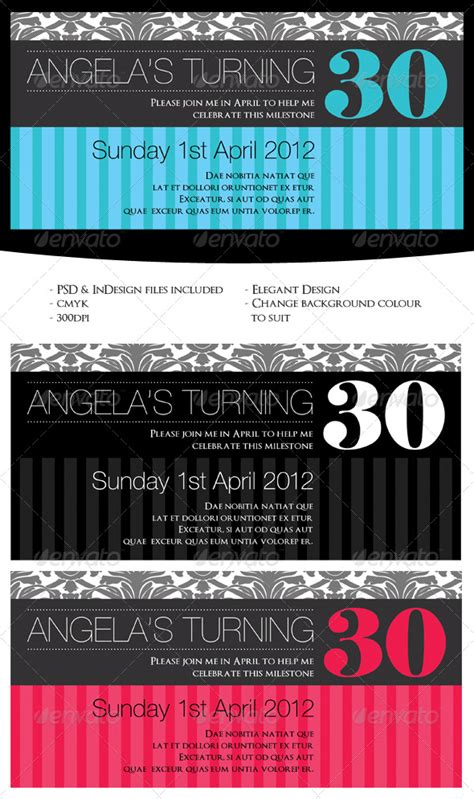 free indesign invitation templates free birthday invitation templates indesign 187 maydesk